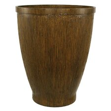 Wood Grain Round Pot Planter