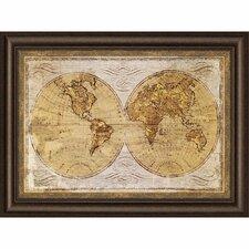 Worldwide I Framed Graphic Art