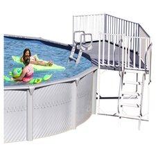 2 Piece Pool Fan Deck