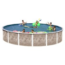 Yosemite Round Deep Complete Above Ground Pool Package