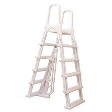 A-Frame Flip Up Above-Ground Pool Ladder
