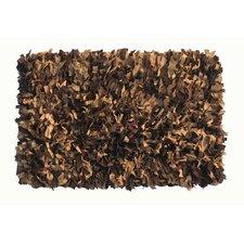 Thalassa Premium Leather Earth Rug