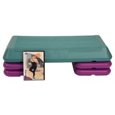 Workout System Aerobic Stepper with DVD