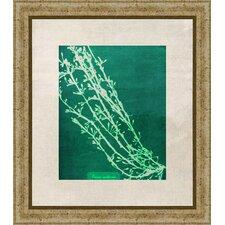 Emerald Coral IV Giclée Framed Graphic Art