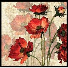 Bright Flower 2 Piece Framed Graphic Art Set