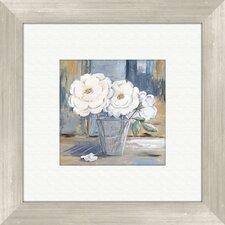 Cottage Rose Framed Painting Print
