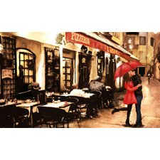 Italian Couple Painting Print on Wrapped Canvas