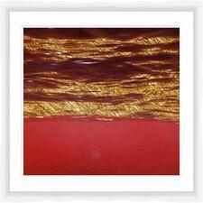 Crimson World I Framed Graphic Art
