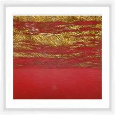 Crimson World II Framed Graphic Art