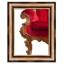 Elegance Crimson I Framed Graphic Art