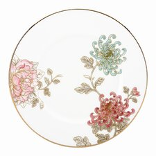 "Painted Camellia 9"" Accent Plate"