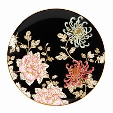 "Painted Camellia 8"" Coupe Salad Plate"