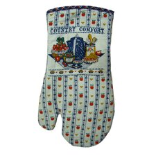 Printed Country Comfort Oven Mitt (Set of 2)