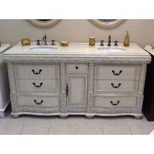 "Caroline 72"" Double Bathroom Vanity Set"