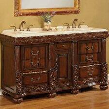 "Kent 60"" Double Bathroom Vanity Set"