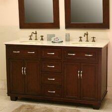 "Bolton 60"" Double Bathroom Vanity Set"