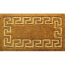 Woven Greek Key Doormat