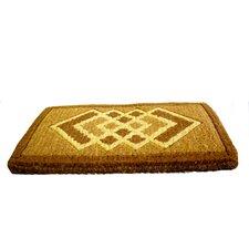 Woven Cross Diamonds Doormat