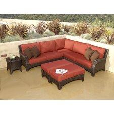 Santa Barbara Sectional Sofa with Cushions