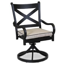 Monterey Swivel Dining Chair with Self Welt Cushion