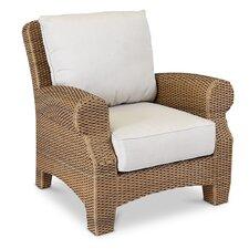 Santa Cruz Club Chair with Self Welt Cushions