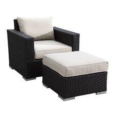 Solana Club Chair with Cushion