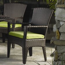 Malibu Dining Arm Chair with Cushion