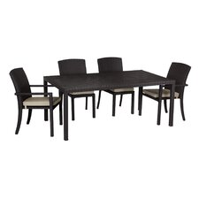 Solana 7 Piece Dining Set with cushions