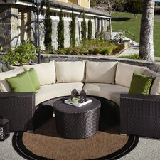 Solana 5 Piece Deep Seating Group with Cushions