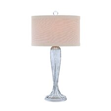 "Catalina 31"" H Table Lamp with Oval Shade"