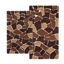 Boulder 2 Piece Bath Rug Set