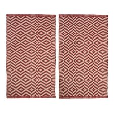 Portland Red Area Rug (Set of 2)