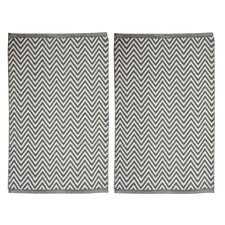 Portland Gray Area Rug (Set of 2)