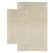 Bella Napoli Contemporary 2 Piece Bath Rug Set