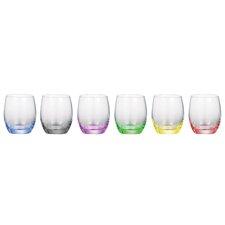Rainbow 10.5 Oz. Old Fashioned Glass (Set of 6)