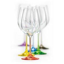 Rainbow All Purpose Wine Glass (Set of 6)