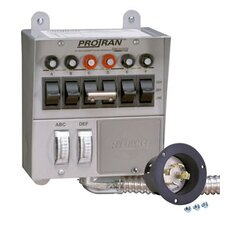 Pro / Tran Transfer Switch for 5000 Watt Generator