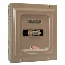 TCA0606D Indoor Transfer Panel - 60A Utility and 60A Generator