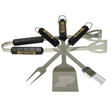 NCAA 4 Piece BBQ Grill Tool Set