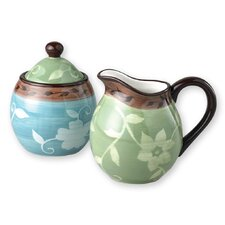 Patio Garden Sugar and Creamer Set