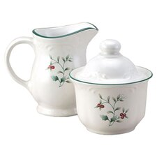 Winterberry Sugar & Creamer Set