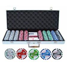 500 Piece Double Royal Flush Poker Chip Set