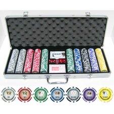 500 Piece Tournament Series Poker Chip Set