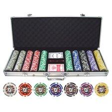 500 Piece Big Slick 11.5g Poker Chip Set