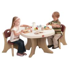 New Traditions Kids' 3 Piece Table & Chair Set