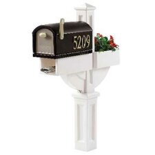 MailMaster Hudson Post Mounted Mailbox