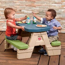 Kids Rectangle Sit and Play Picnic Table