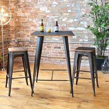 Oregon 3 Piece Pub Table Set