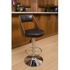 Presta Adjustable Height Swivel Bar Stool with Cushion