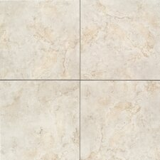 "Brancacci 18"" x 18"" Ceramic Field Tile in Aria Ivory"